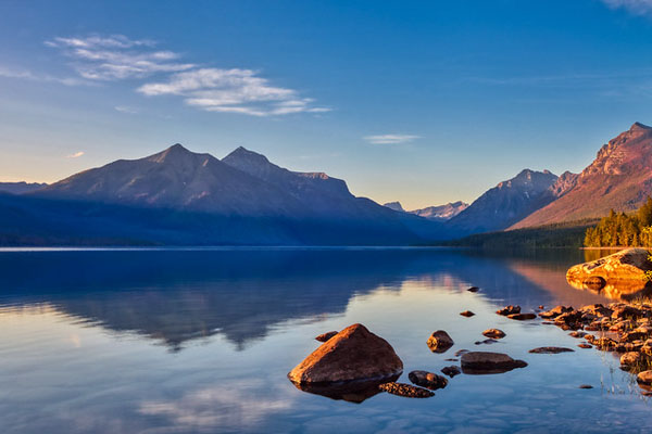 Glacier National Park: Our Favorite Easy to Access Photo Spots by Wildsight Photography. Lake McDonald sunset reflection