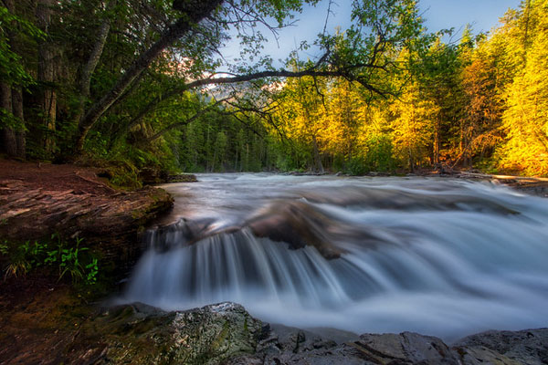 Glacier National Park: Our Favorite Easy to Access Photo Spots by Wildsight Photography. McDonald Creek, John Lake Trail